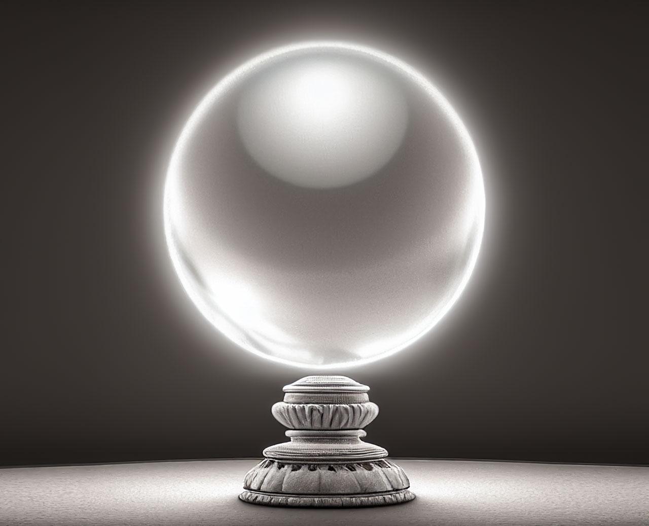 La boule de cristal magique
